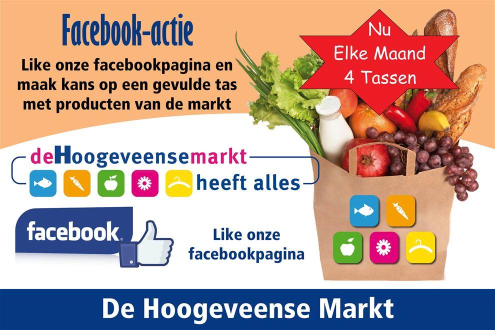 Facebook actie Markt Hoogeveen