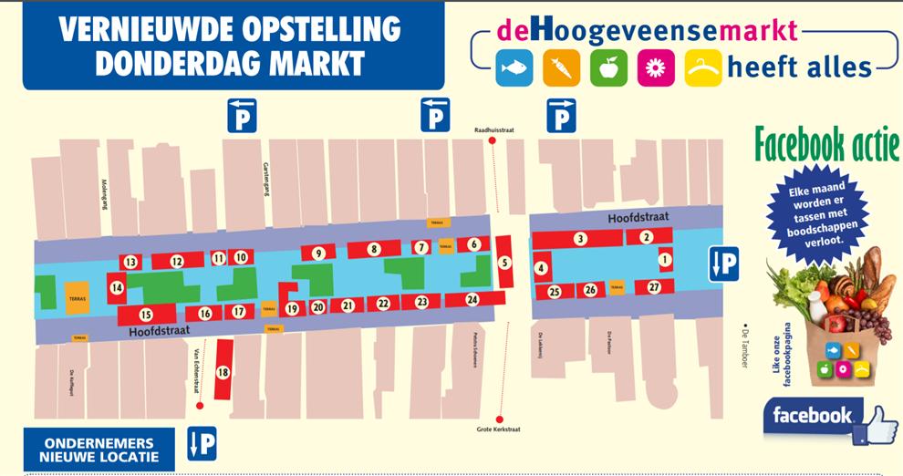 Markt Donderdag 5-6-2019